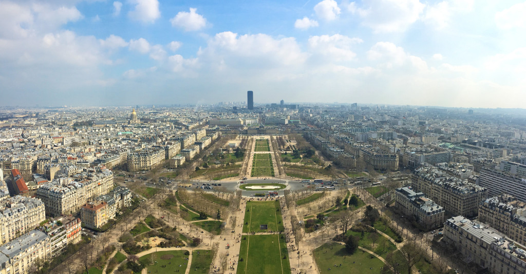 eiffel tower view, eiffel tower, paris, view, france, landscape, tourist