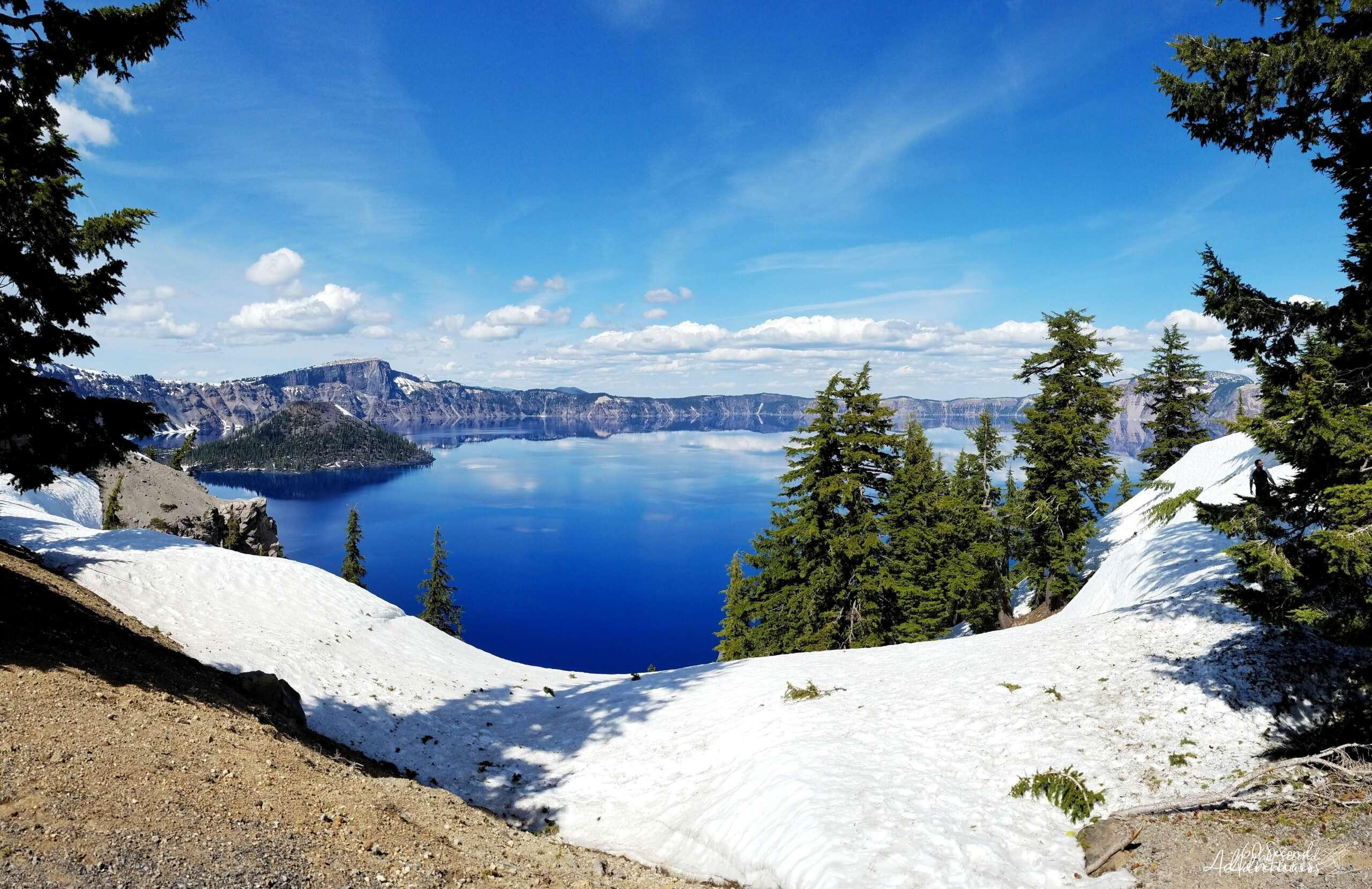 medford, oregon, crater lake, rim, road trip, natural wonders,
