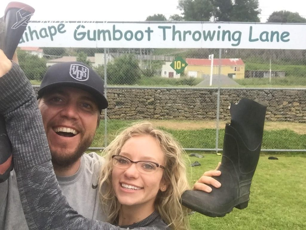 new zealand, gumboot, throwing, north island